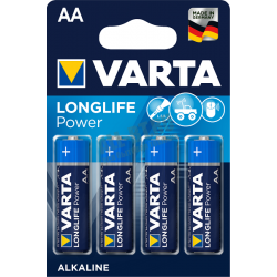 Батарейка VARTA LONGLIFE POWER AA/LR06 бл 4