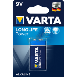 Батарейка VARTA LONGLIFE POWER 9V/6LR61