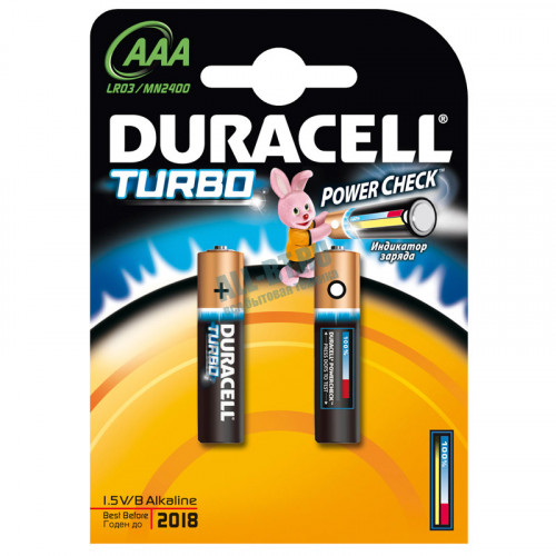 Батарейка Duracell MX2400 K2 Turbo