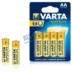 Батарейка VARTA SUPERLIFE AA/LR06 пл 4